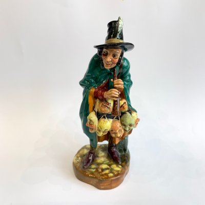Фигурка, Royal Doulton, The Mask Seller, № 2103, 1952 г., Англия